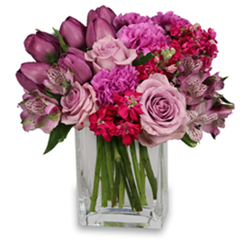 Precious Purples Arrangement