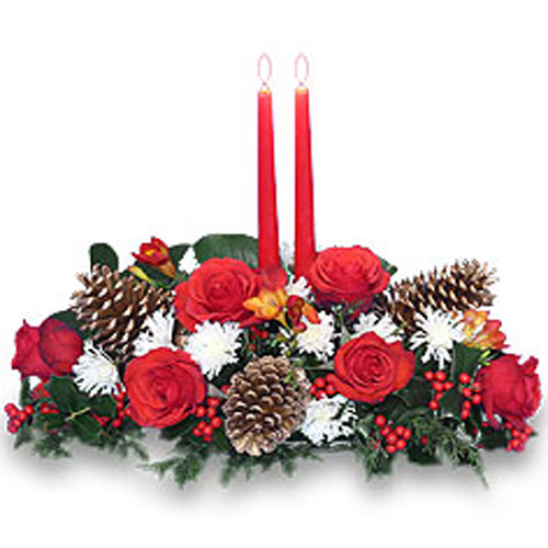 Yuletide Glow Centerpiece