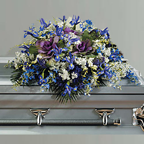 Blue Casket Piece