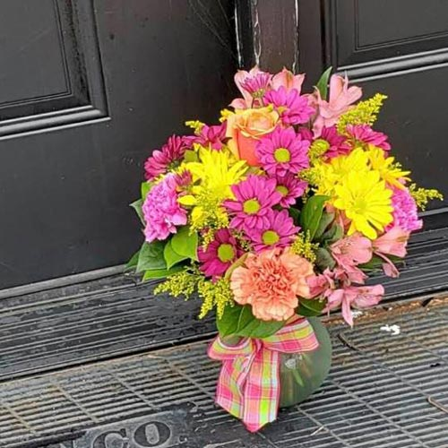 Doorstep Surprise